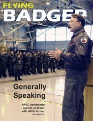 Generally Speaking - 440th Airlift Wing