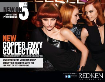 NEW COPPER ENVY COLLECTION - Redken Professional Site