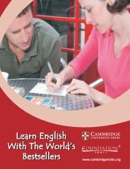 Learn English - Cambridge University Press India