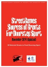 sources of grants for doorstep sport november 2014 (2)