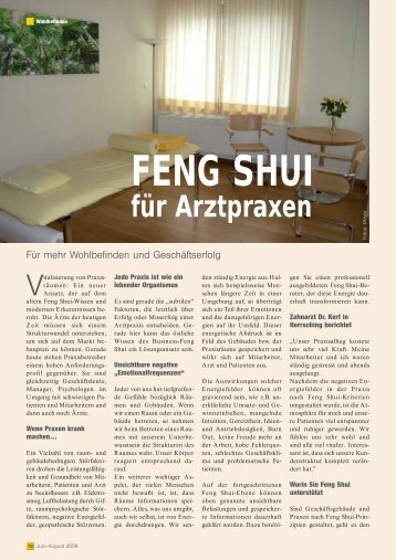 flyer anschauen christine fett traditional chinese feng shui. Black Bedroom Furniture Sets. Home Design Ideas