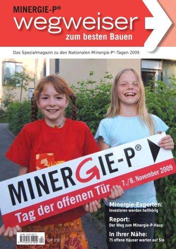 Wegweiser zum besten Bauen 2009 (PDF 0.3mb) - Honegger ...