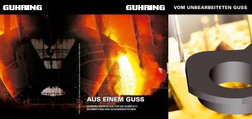 AUS EINEM GUSS - Gühring oHG