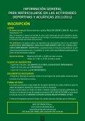 actividades deportivas y acuáticas - Ayuntamiento de Mairena del ... - Page 2