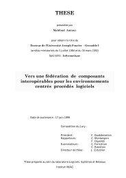 Vers une fédération de composants interopérables pour les