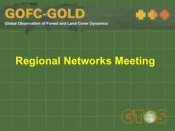 Regional Networks Meeting