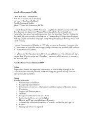Marsden Housemaster Profile Grant McKibbin ... - King's College