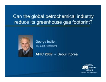 Can the global petrochemical industry reduce its greenhouse gas ...