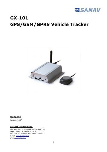 Car gps tracker user Manual