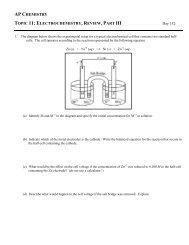practice - Avon Chemistry