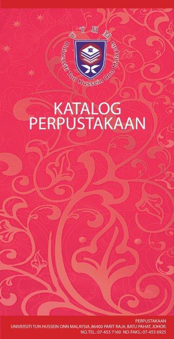 KATALOG PERPUSTAKAAN - UTHM Library