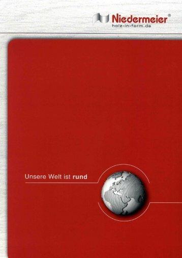 Katalog 2013 - Holz in Form Niedermeier GmbH