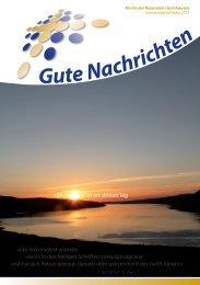 Gute Nachrichten März (PDF) - Kirche des Nazareners