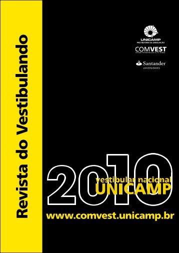 Revista do Vestibulando 2010 (versão em pdf - Unicamp