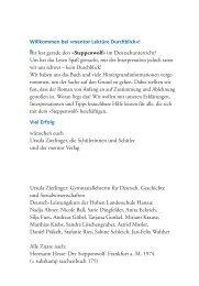 Ihr lest gerade den »steppenwolf« im Deutschunterricht? Uns hat ...