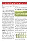 Eesti loomakasvatus 2011. aastal - Tõuloomakasvatus - Page 4