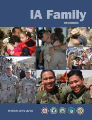 MARCH-JUNE 2008 HANdbook - National Military Family Association