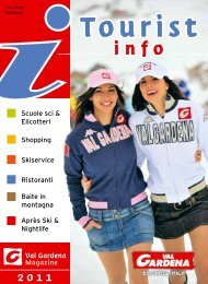 Scarica PDF Tourist Info 2011 - Snowevents