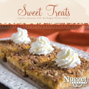 Brochure Sweet Treats - Nugget Market