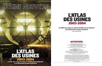 L'ATLAS DES USINES L'ATLAS DES USINES