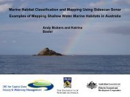 Marine Habitat Classification and Mapping Using ... - OzCoasts