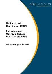 Census Appendix Data Yr on Yr - NHS