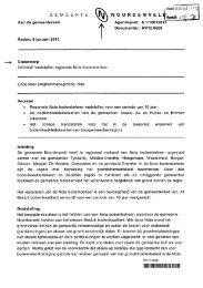 raadsvoorstel rv regionale Nota bodembeheer en ...