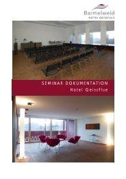 Seminar Dokumentation 2012 - Klinik Barmelweid