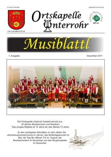 Die 1. Ausgabe unseres Musiblattl findet ihr hier zum Download