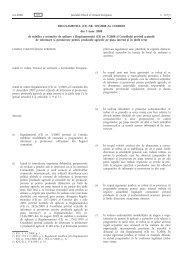 REGULAMENTUL (CE) NR. 501/2008 AL COMISIEI din 5 ... - MADR