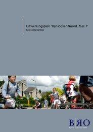Uitwerkingsplan 'Rijnsoever-Noord, fase 1' - Gemeente Katwijk
