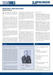 TECHTIMES - Dr. Wüpping Consulting GmbH