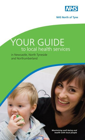 Your guide to local health services 2009 v2 - South of Tyne and ...