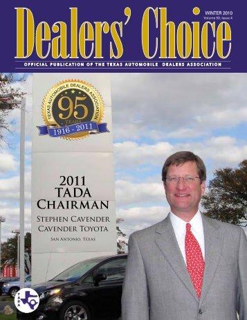 2011 TADA Chairman - Media Communication Group