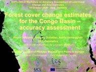 Congo basin deforestation assessment exam. - GOFC-GOLD LC-IT ...