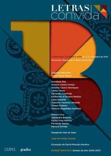 Revista Letras ComVida, Número 2 - 2º Semestre de - LusoSofia