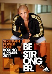 STRENGTH POWER STYLE. BOXING APPAREL 2011 - Lask