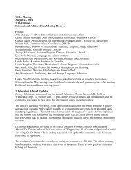 Aug 23 - Outreach & International Affairs - Virginia Tech