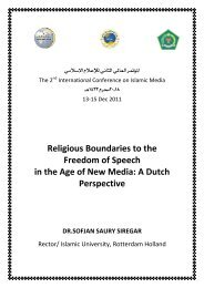 Religious Boundaries to the Freedom of Speech in the Age of New ...