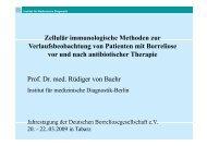 LTT negativ - Lyme Borreliose Informationen