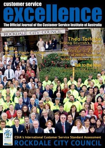 ROCKDALE CITY COUNCIL - Customer Service Institute of Australia
