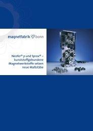 Neofer® p und Sprox - Magnetfabrik Bonn