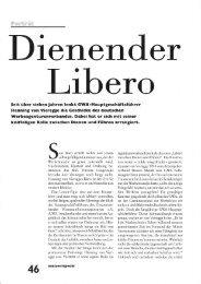 Dienender Libero - Henning von Vieregge