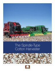 The Spindle-Type Cotton Harvester - Texas A&M AgriLife Research ...