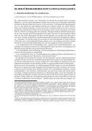 III. Der Fürsorgebereich im Nationalsozialismus