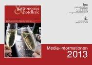 Mediadaten 2013 von gastronomie&hotellerie (PDF)