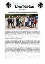 Ausgabe 05 / 07 - Teckelgruppe Raben