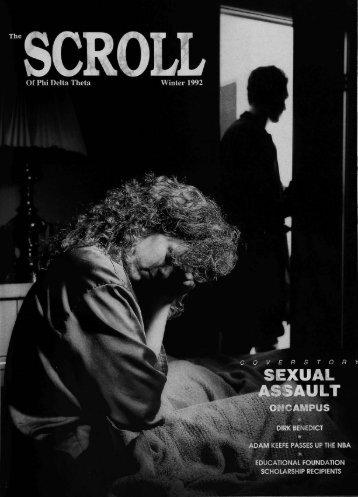 1991–92 Volume 115 No 1–4 - Phi Delta Theta Scroll Archive