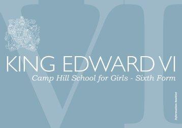 Download - King Edward VI Camp Hill School for Girls