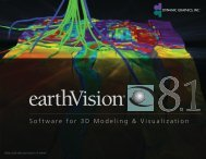 EarthVision 8.1 Brochure - Dynamic Graphics, Inc.